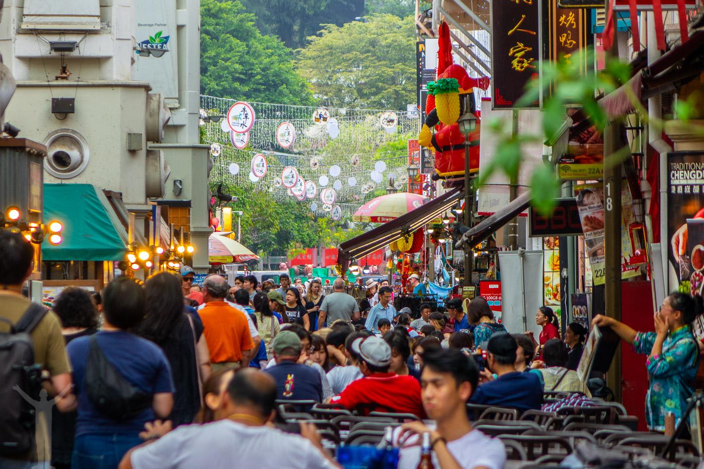 Foodstreet i Chinatown