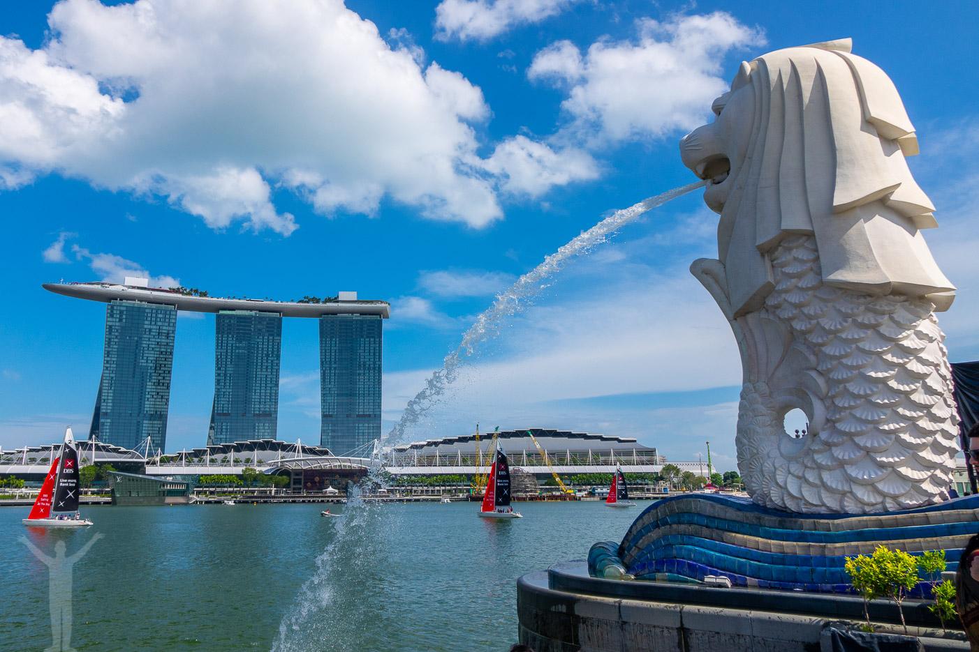 Merlion i Singapore