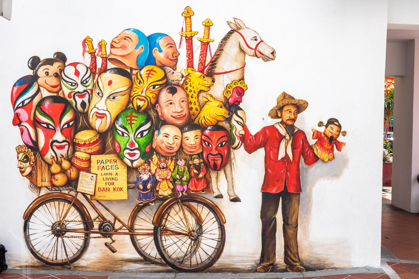 Streetart i Chinatown