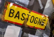 Bastogne vägskylt