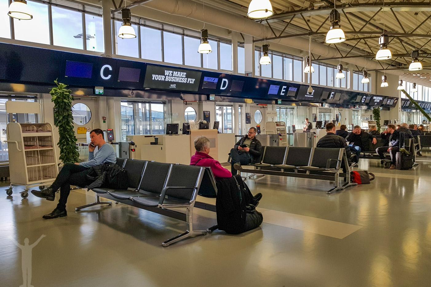 Gaterna på Bromma flygplats