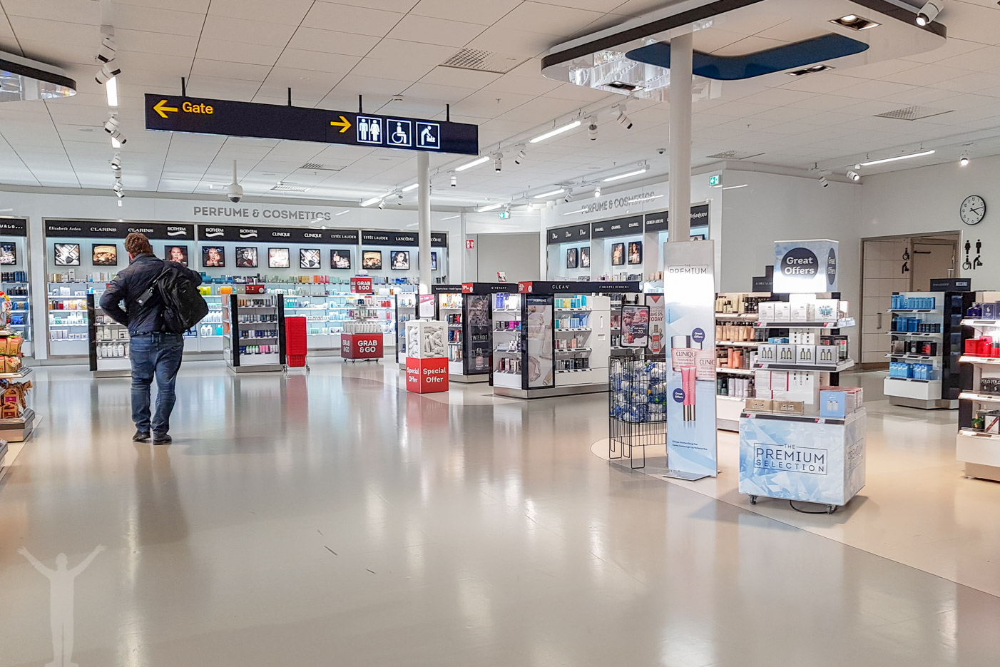 Bromma flygplats - nya shoppen