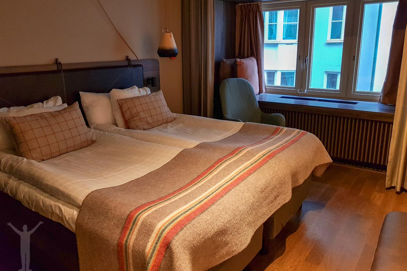 Sängen satt som ett smäck