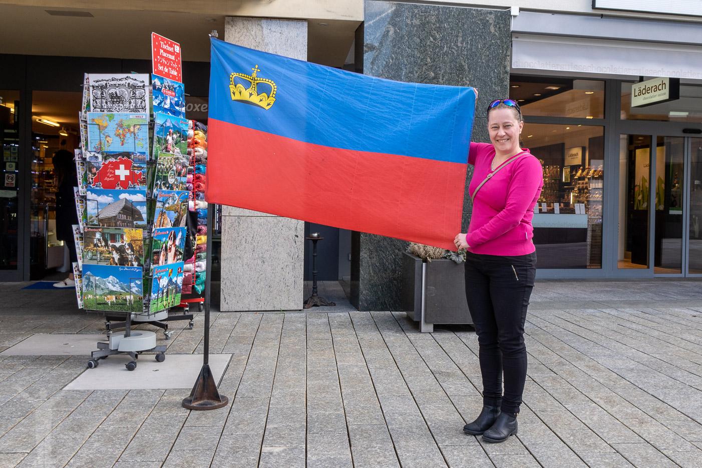 Flaggan och Maria