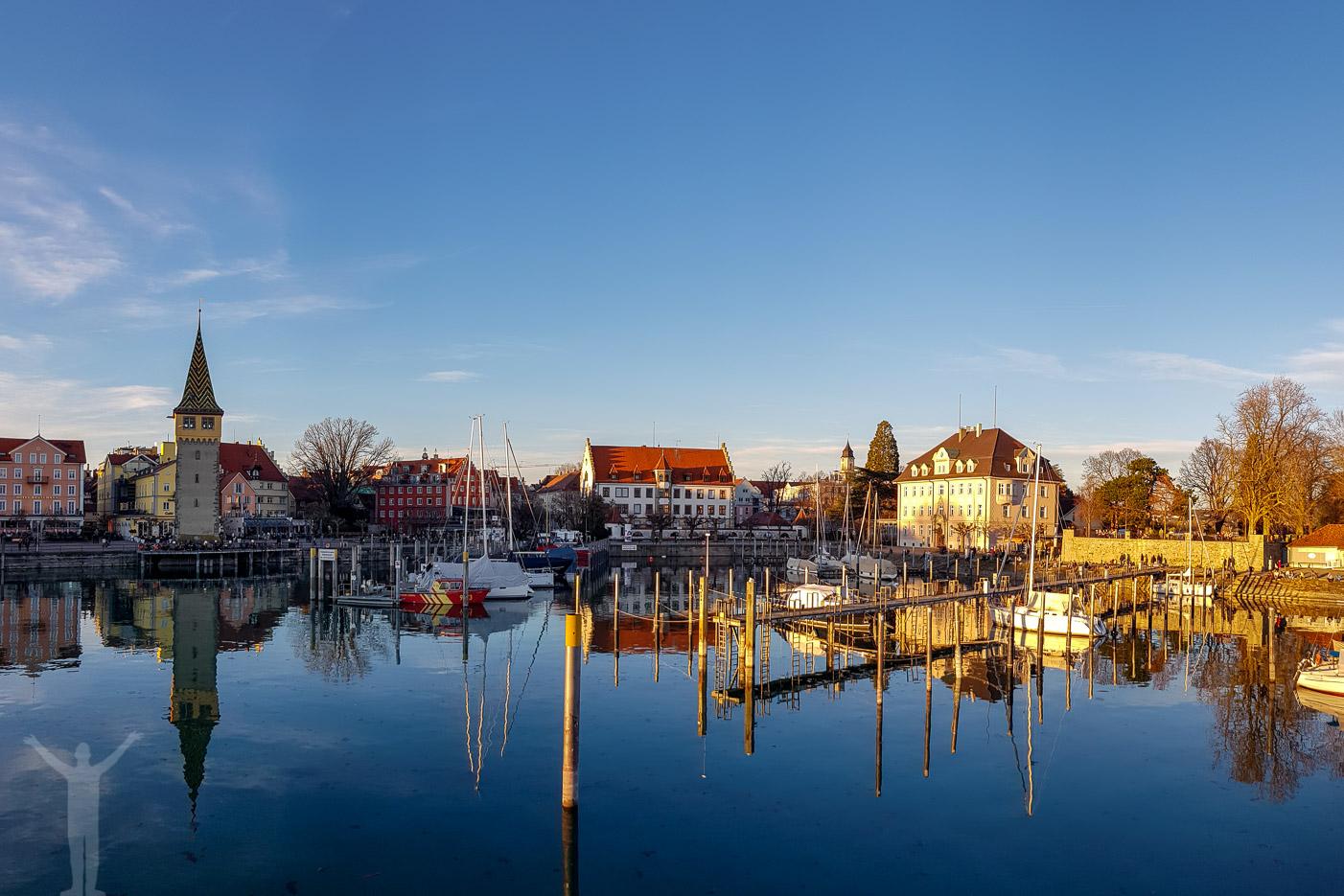 Hamnen i Lindau