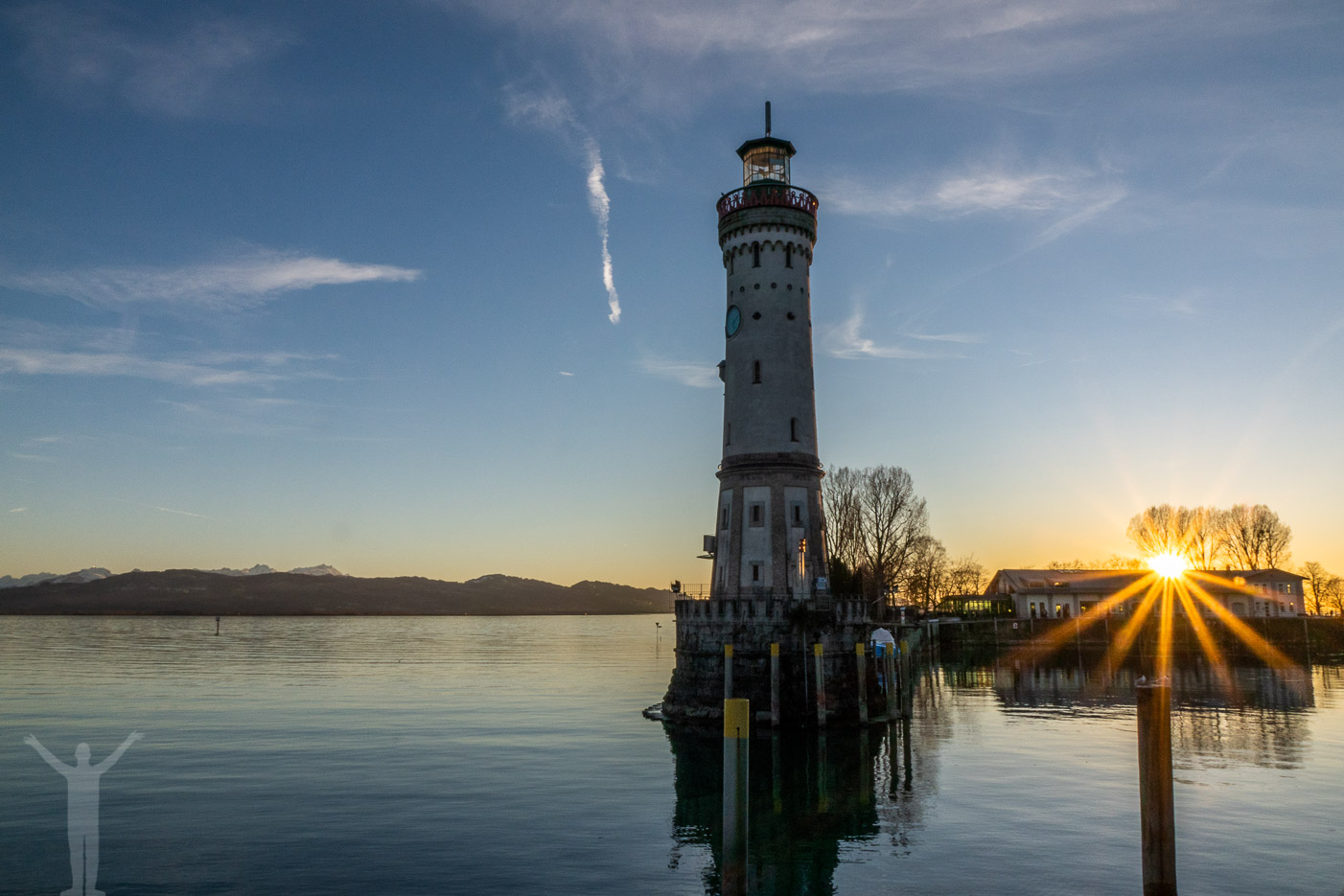 Skymning vid Bodensjön