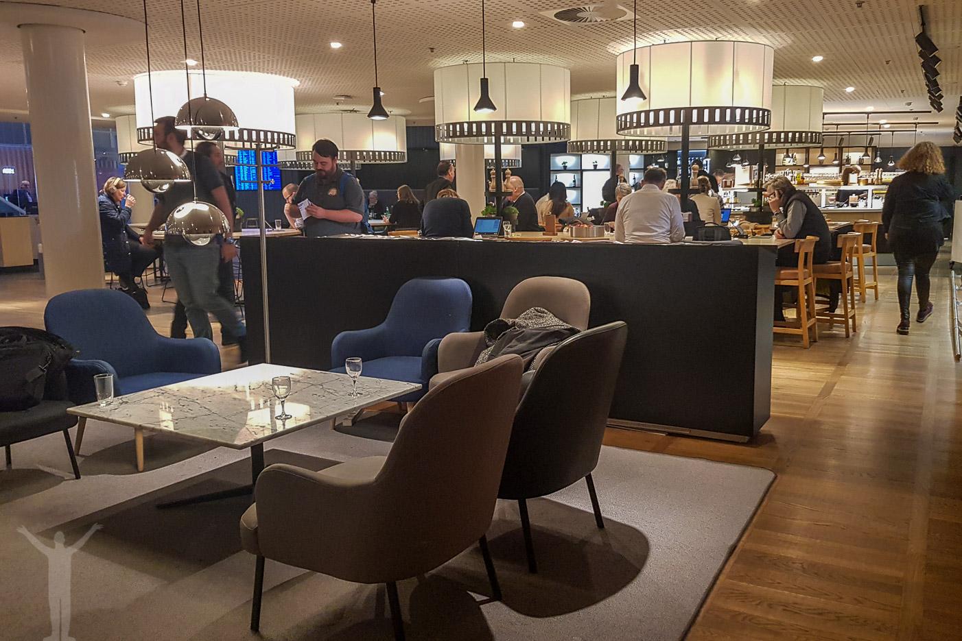 SAS Lounge i Köpenhamn
