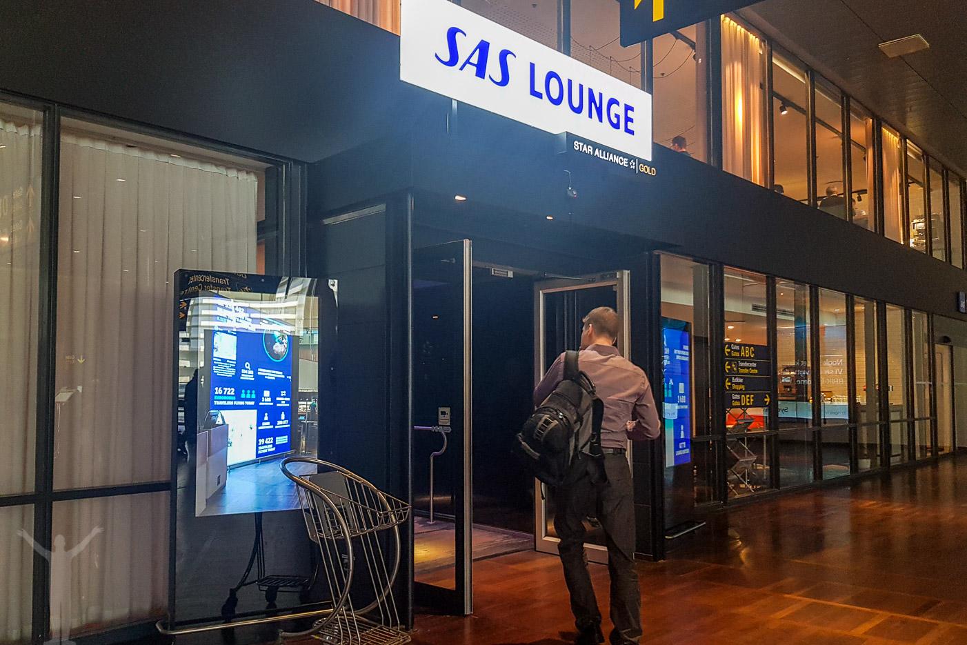 Recension: SAS Lounge på Kastrup (Köpenhamn)