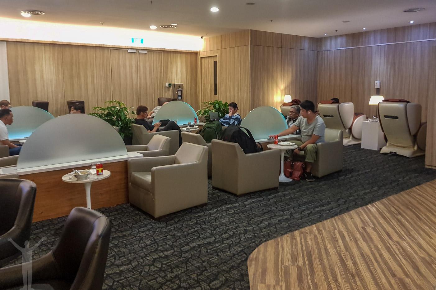 SATS Premier Lounge på Changi Airport