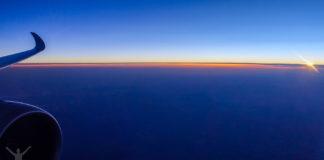 Solnedgång från 5A