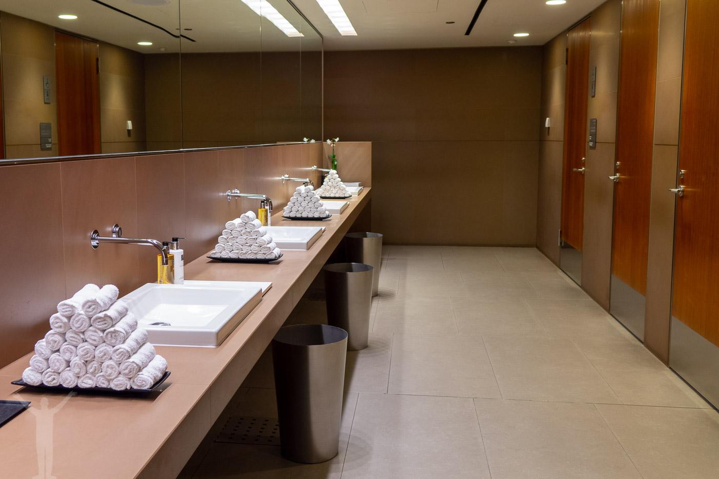 Toalettutrymmena - välstädade