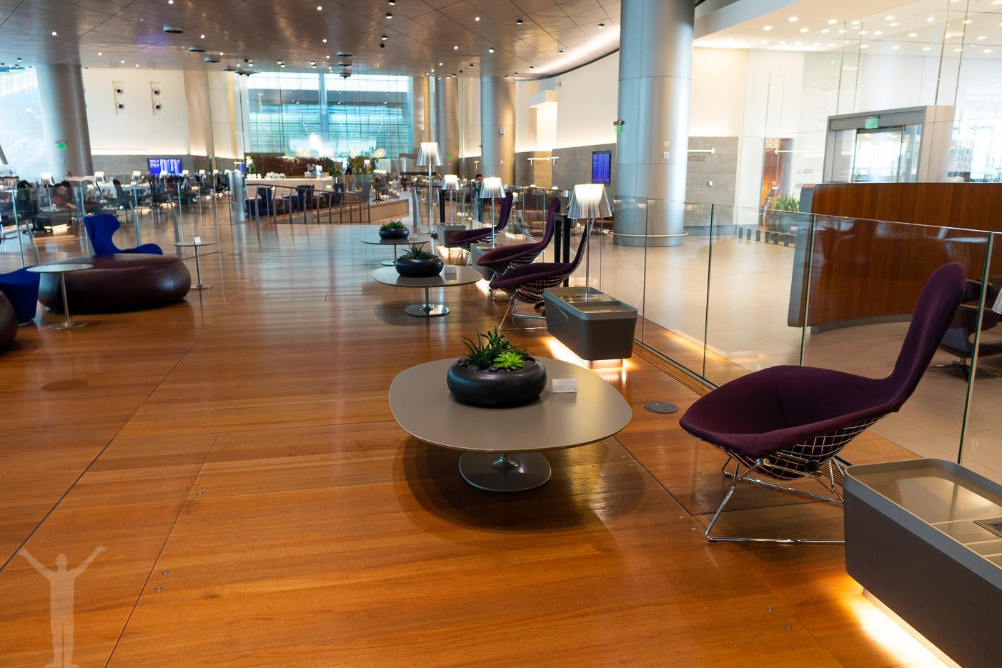 Jättestora ytor på 10000 kvadratmeter i Al Mourjan Business Lounge