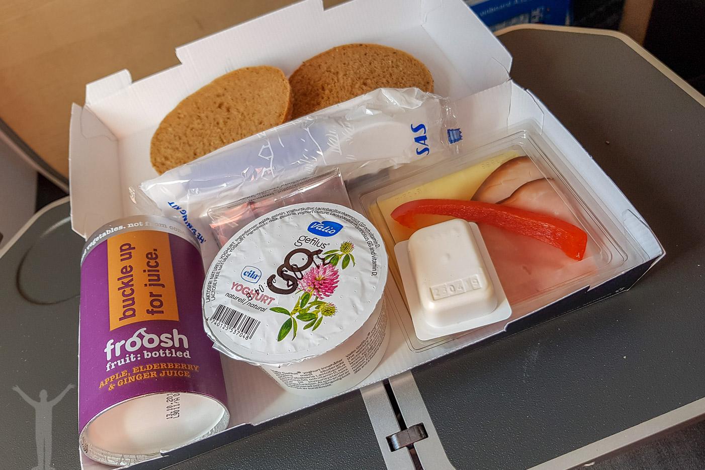 Frukost i SAS Plus