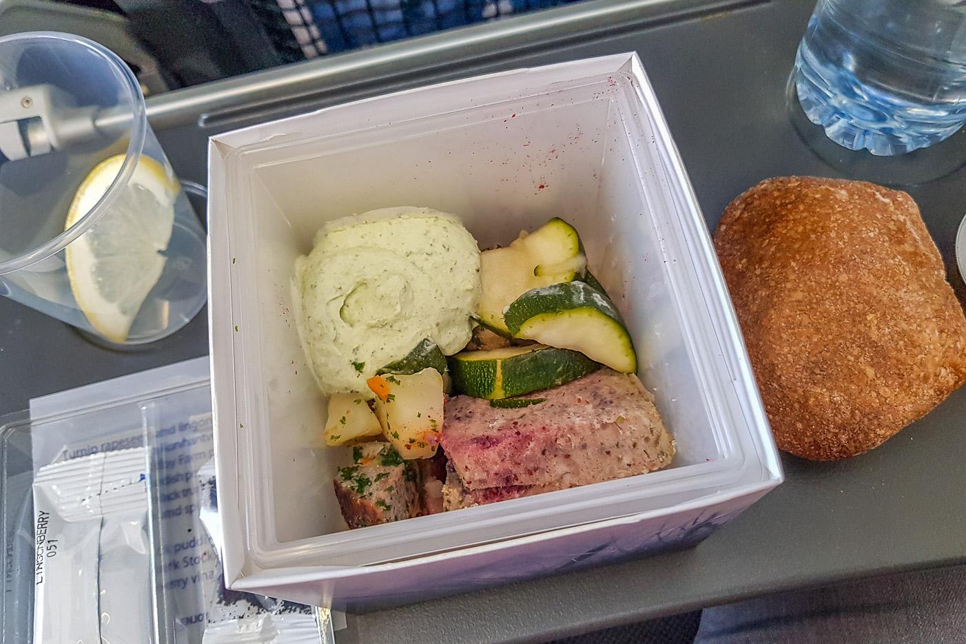 Lunchkuben i SAS Plus inom Europa.