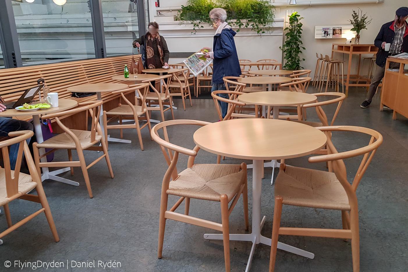 Sittplatser i SJ Lounge på Stockholm C