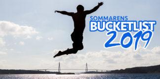 Sommaren 2019 - en bucketlist