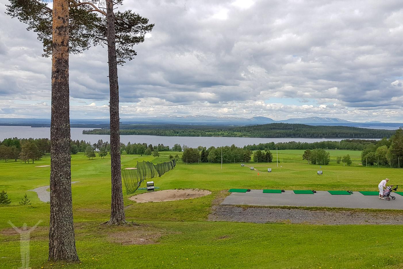 Golfbanan på Frösön