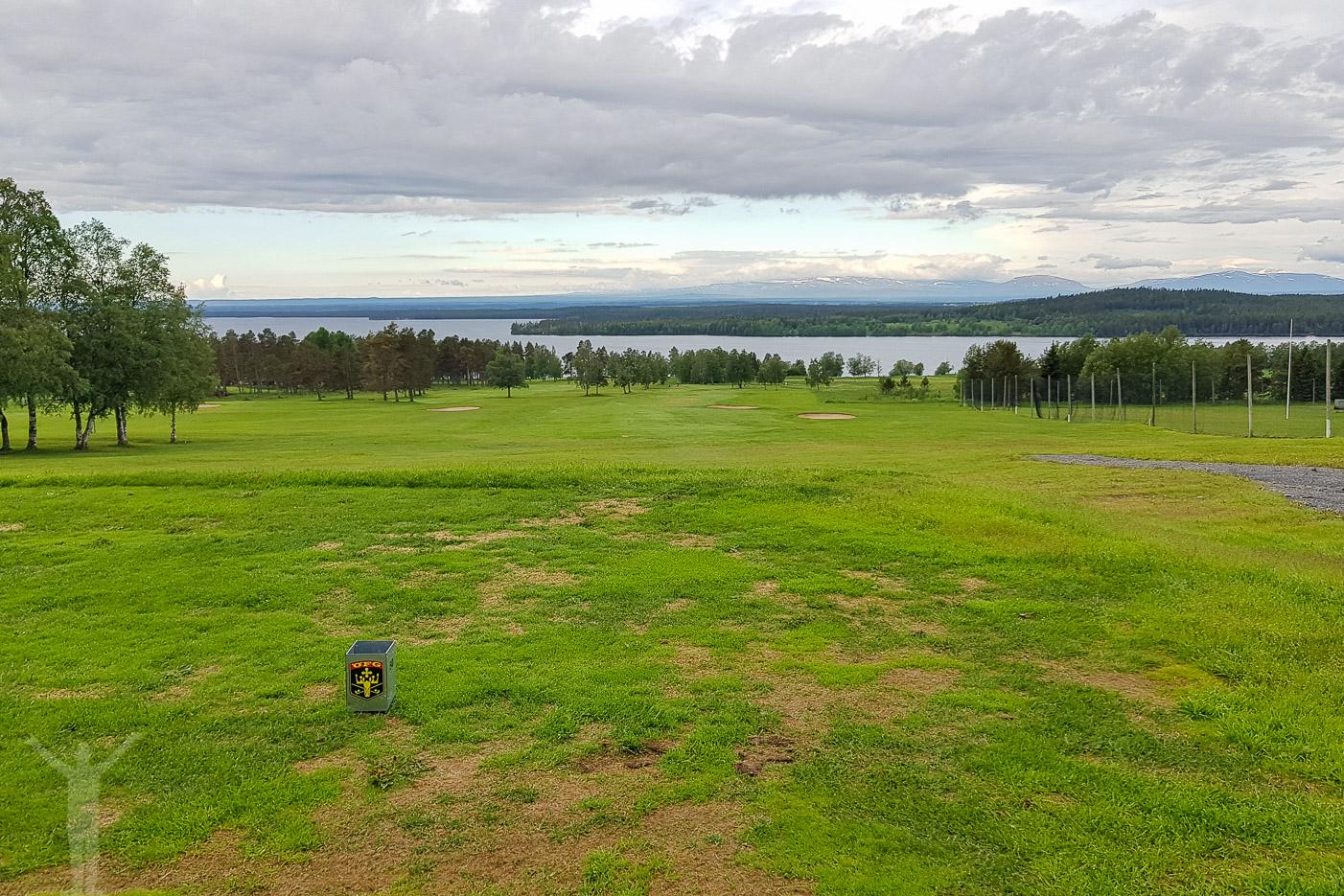 Tee 1 på Frösöns golfbana
