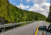 Vackra norska vägar