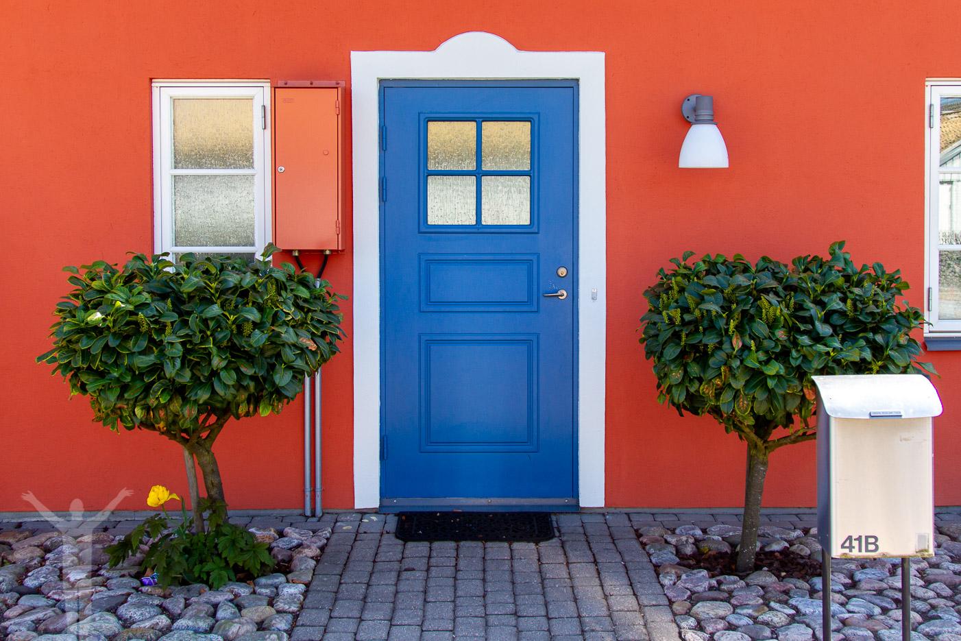Vackra fasader i Åhus