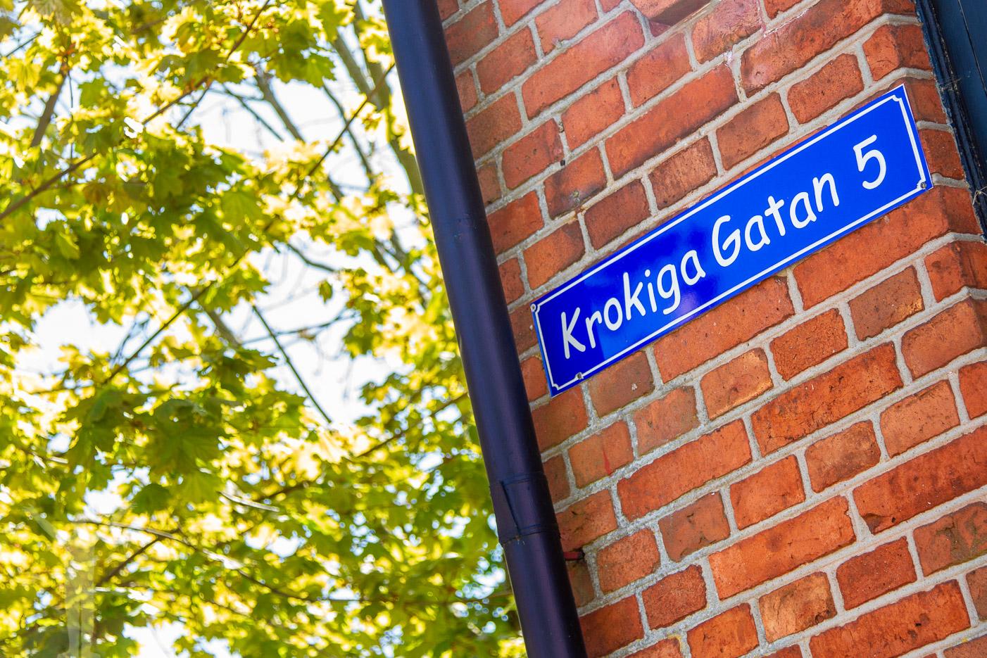 Krokiga gatan i Åhus