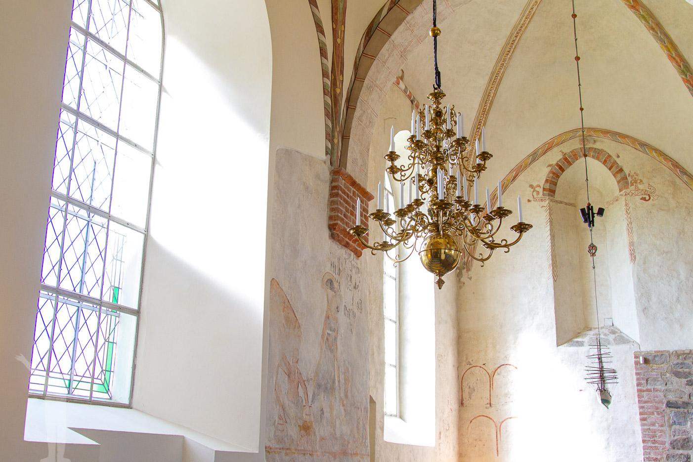 Åhus renoverade kyrka