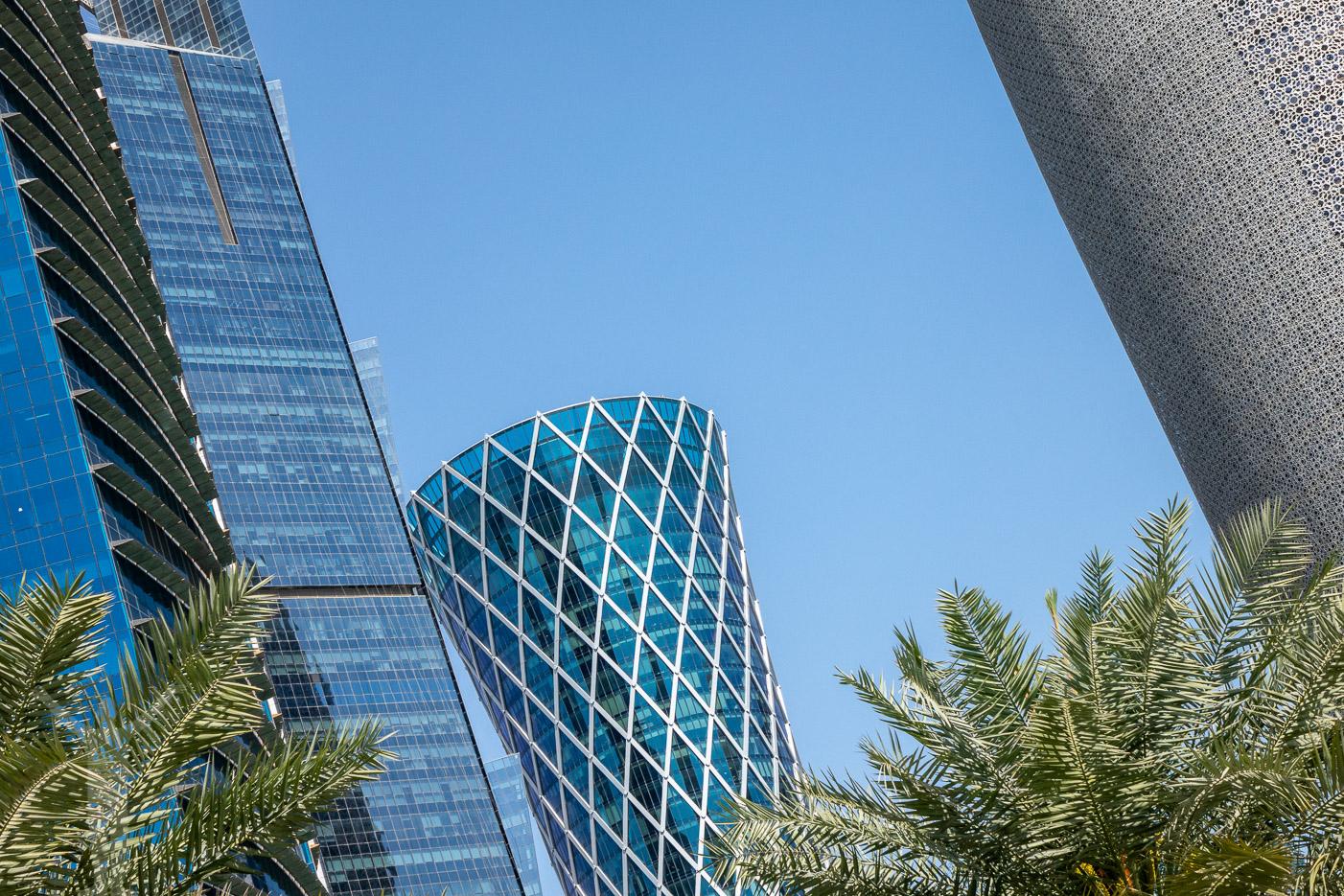Skyskrapor i Doha