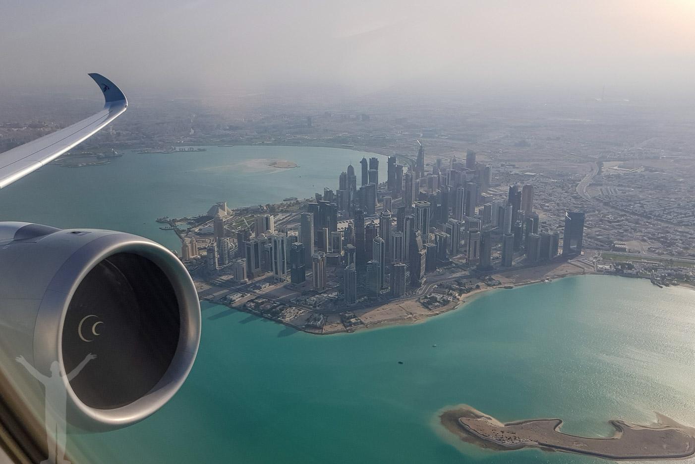 Takeoff från Doha