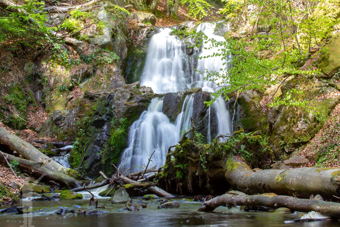 Skånes högsta vattenfall