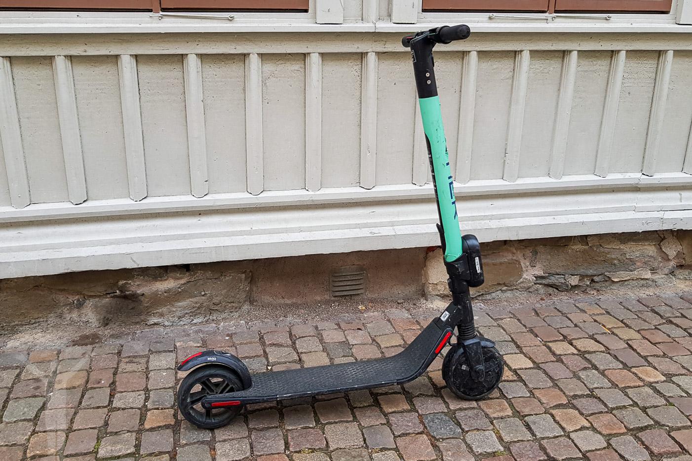 Hyra elscooter i Göteborg