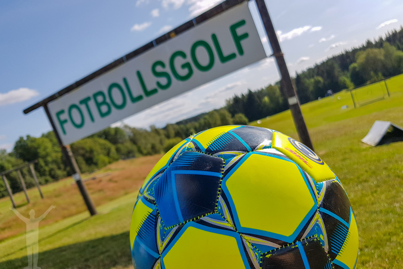 Footgolf på Lane Loge utanför Uddevalla