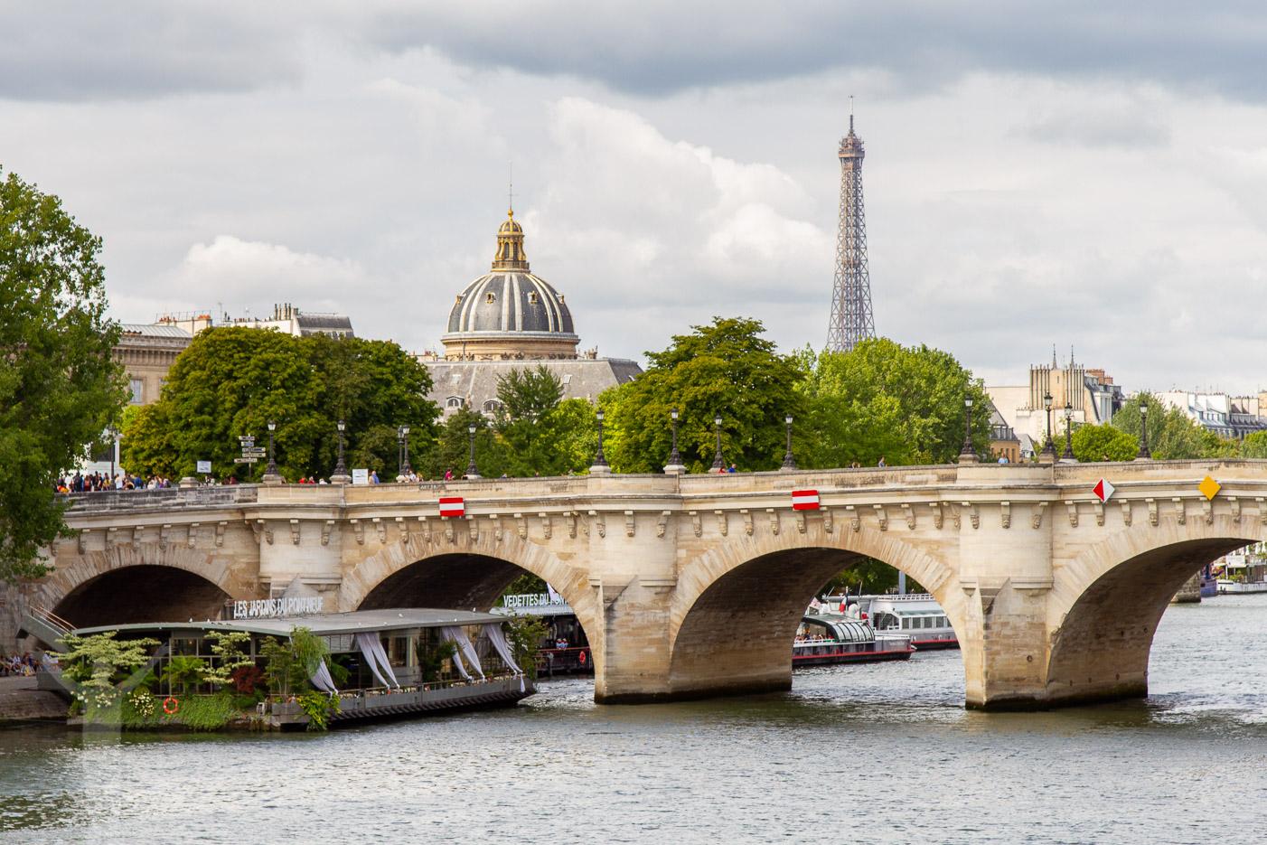 Paris från Seine