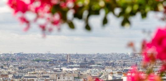 Paris från Sacré Cœur