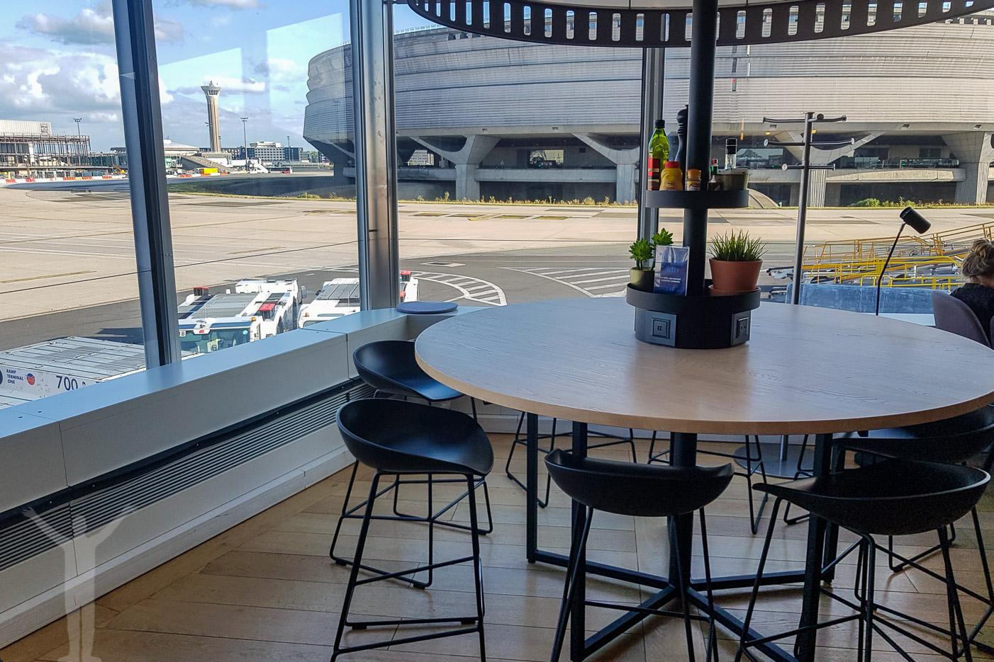 Matbord med utsikt