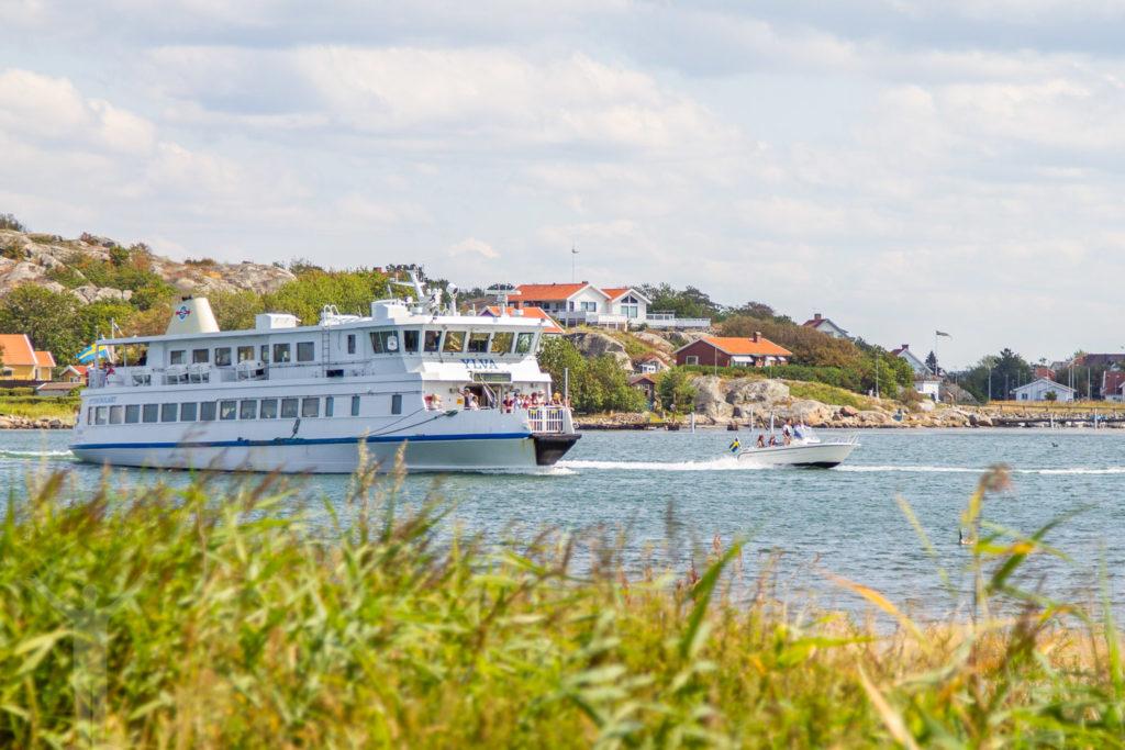 Båtluffa med Västtrafik