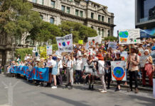 Klimatstrejk i Melbourne