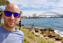 Jag och Operahuset i Sydney