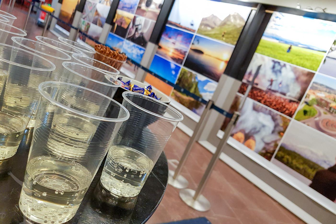 Vernissage på Åre Östersund flygplats