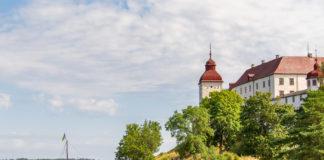 Läckö Slott, mitt i Vänerskärgården