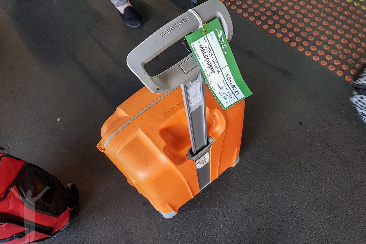 Incheckat bagage