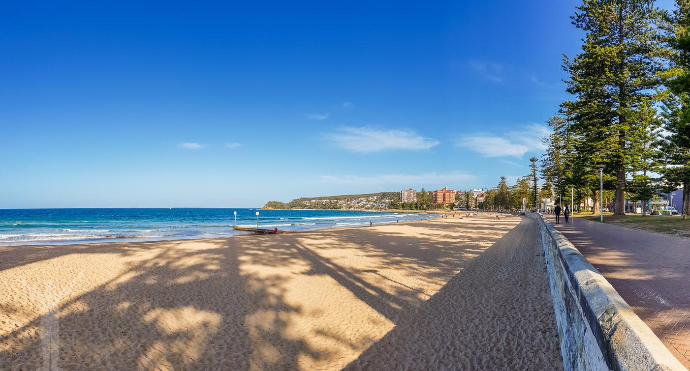Manly Beach, strax utanför Sydney
