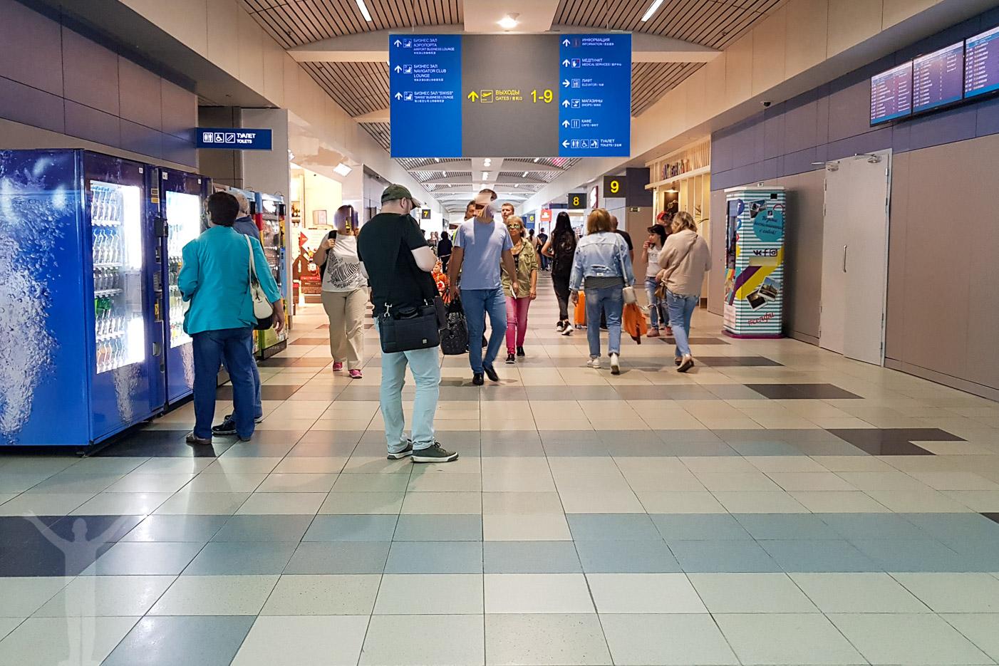 Domodedovos internationella flygplats utanför Moskva
