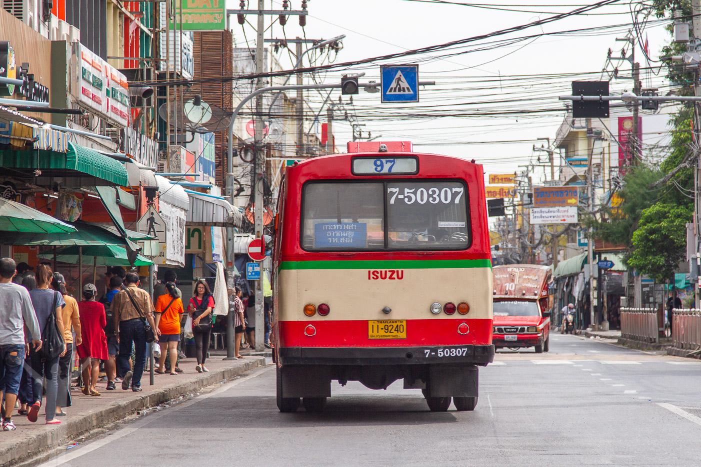 Lokaltrafiken i BKK finns i olika varianter, från buss till tunnelbana.