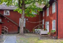 Innergård i det gamla Örebro