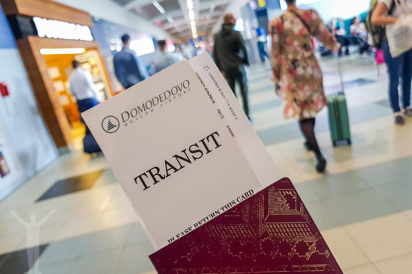 Flyga från Arlanda till Singapore via Moskva kräver transit.