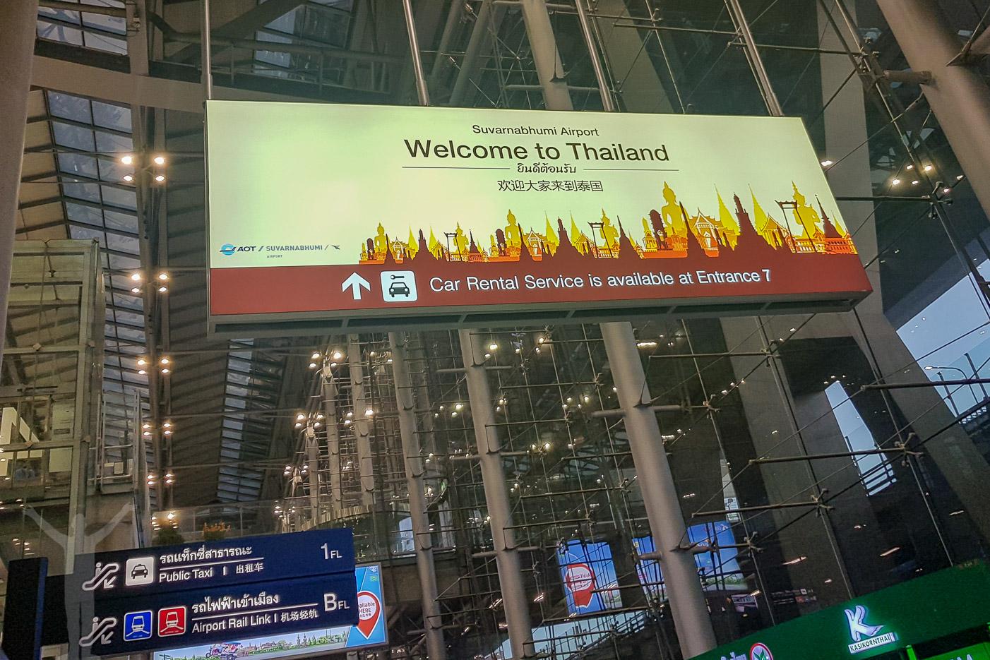 Välkommen till Thailand