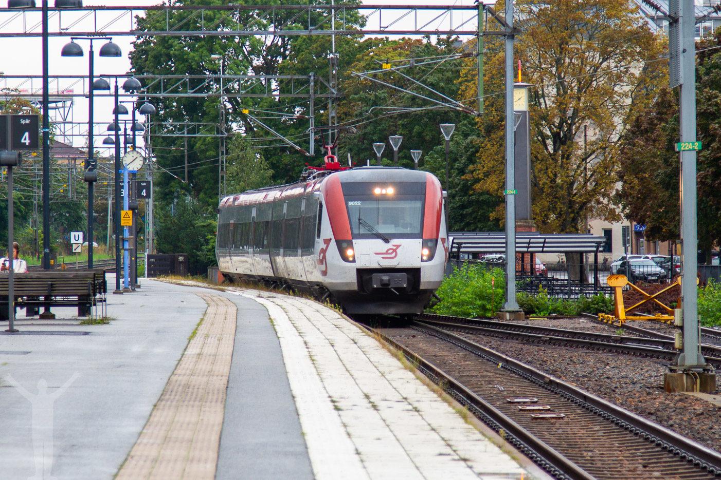 Tågstationen i Örebro