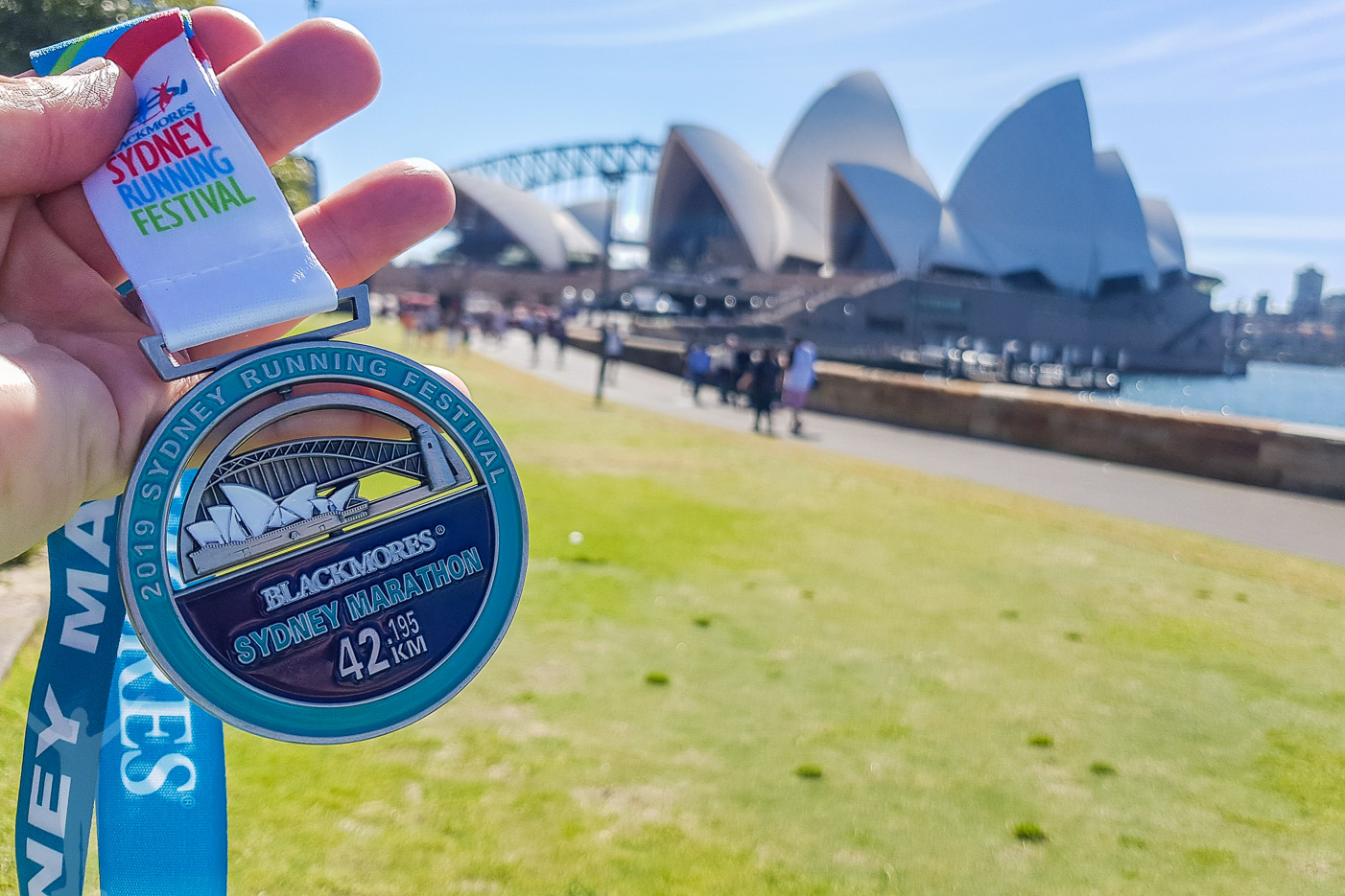 Snygg medalj till Sydney Marathon