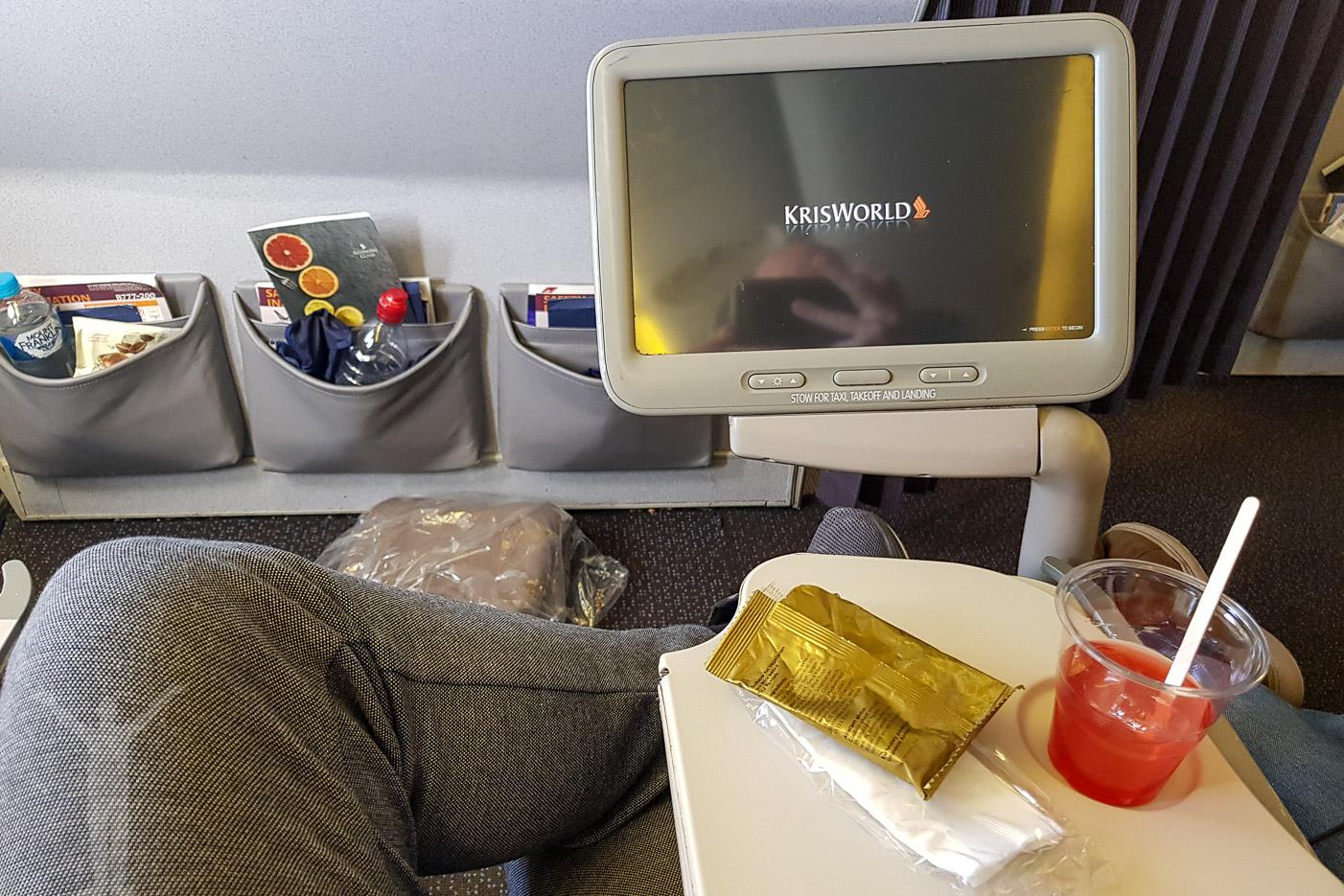 IFE:n på en äldre Boeing 777-200ER