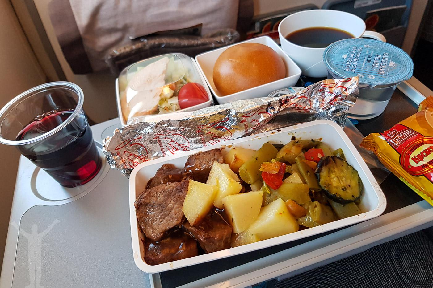 Mat ombord hos Singapore Airlines